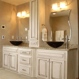 Heirloom Bathroom Cabinets
